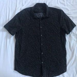 John Varvatos Skull Shirt - Size L